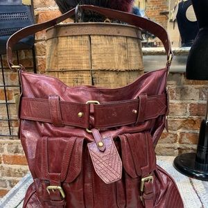 Victor Costa Bags - Victor leather satchel.